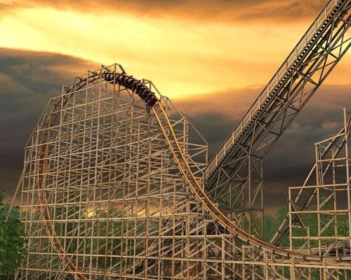 The Most Terrifying Roller Coaster of Our Time! Six Flags' Record-Breaking Ride