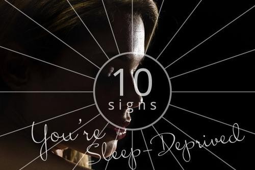 10 Surprising Signs You're Sleep-Deprived