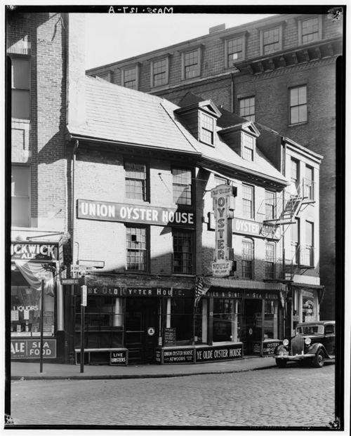 Happy (Early) Birthday to Union Oyster House, America's Oldest Restaurant