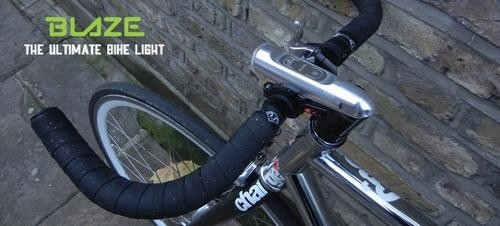$200 Bike Light Projects a Little Laser Cyclist on the Road Ahead of You