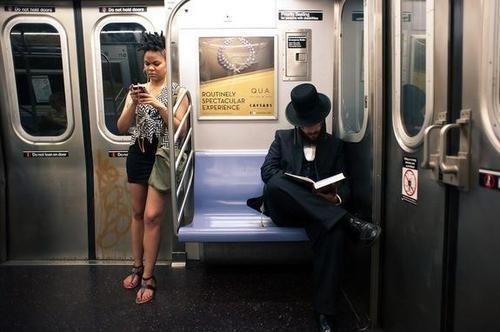 Why You Should Put Down Your Smartphone and Talk to Strangers