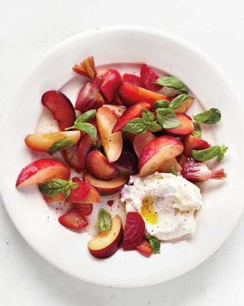 A Salad to Be Plum Crazy About
