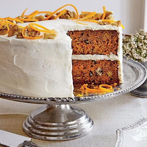 Bake Carrot Cake, Make Friends For Life