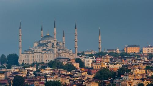 #Daydream: Sunrise over the Blue Mosque in Istanbul