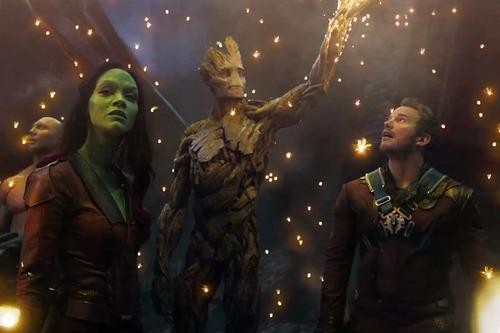 On the Set with the 'Guardians of the Galaxy'