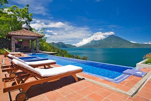 A Luxury Hotel With a New Spa, Volcanoes, and TWO Helipads for $140 a Night? Get Thee to Guatemala!