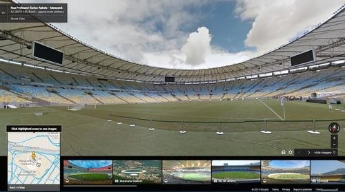 Google Maps Uploads Street View of Each World Cup Stadium