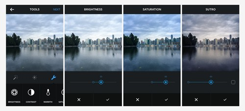 Now You Can Edit the Brightness, Contrast, and Filter Intensity of Your Instagram Photos Within the App
