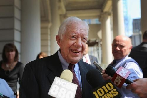 Former President Carter Says He Uses Snail Mail to Evade the NSA