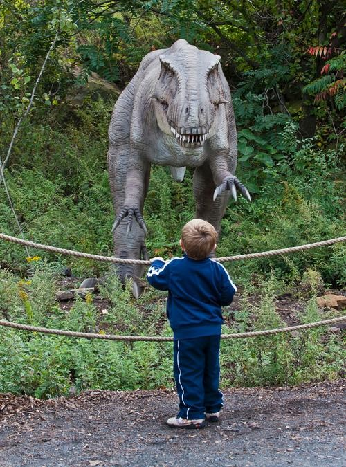 Dinosaurs (Almost) Come to Life at New Science Exhibit