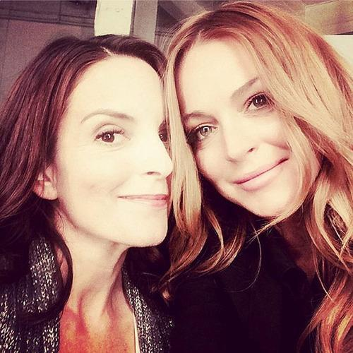 Mystery Solved: Why Tina Fey and Lindsay Lohan Reunited