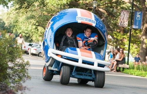 The Weirdly Timed Jokes of '22 Jump Street'