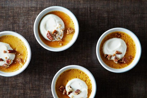 Sweet Potato Flan, Because You're Worth It