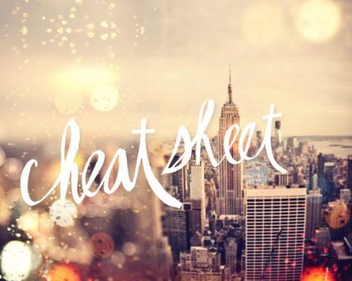 Cheat Sheet: New York