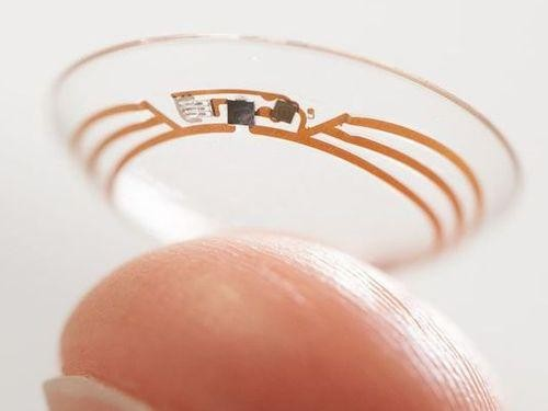 Google Partners with Pharmaceutical Company for Smart Contact Lens Development