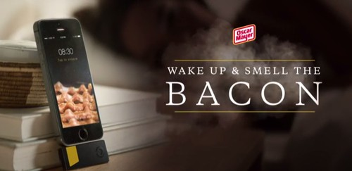 Your iPhone Can Now Wake You Up with the Smell of Bacon
