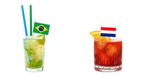 World Cup Party: Drink Up, Brazil and Netherlands