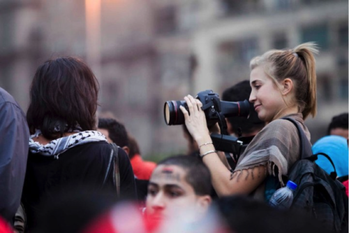 What it Was Really Like to be a Female Journalist Caught in the Arab Spring