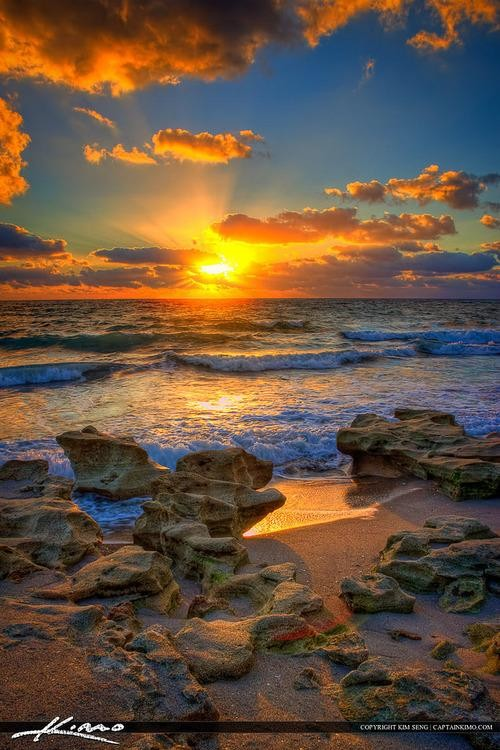 #Daydream: Sunrise over Carlin Park in Jupiter, Florida