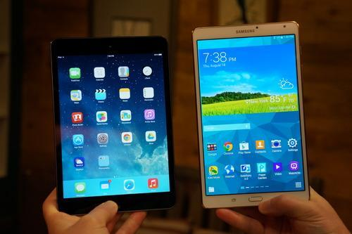 Tablet Faceoff: iPad Mini with Retina Display vs. Galaxy Tab S 8.4
