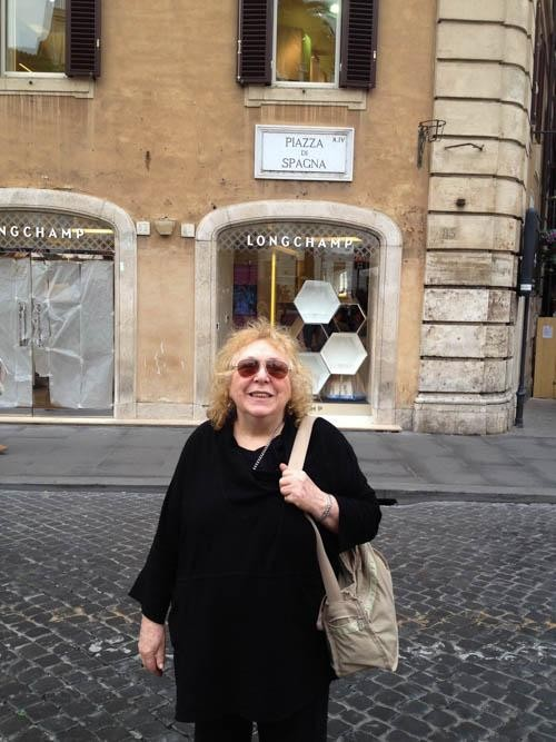 67 & Dumped: on Her Own in Rome