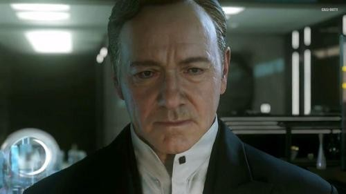 The New 'Call of Duty,' Starring … Kevin Spacey?
