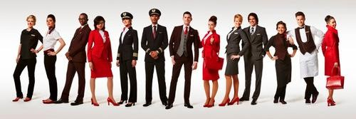 Hey, Good Lookin: Virgin Atlantic's Uniforms Are Taking Off