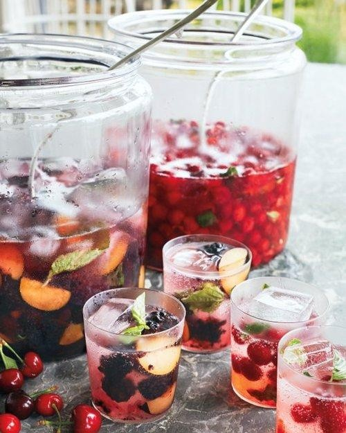 Party-Starting Sour Cherry Mojitos