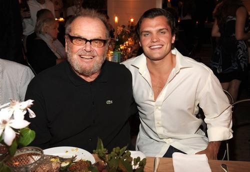 Jack Nicholson Hits Fundraiser With Doppelgänger Son Ray