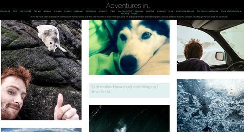 Wide-Eyed Travel Wonder on Adventures in...