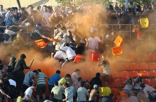 What if ... You Get Caught In a Soccer Riot at the #WorldCup