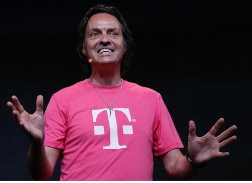 T-Mobile CEO: A Merger with Sprint Could Work...