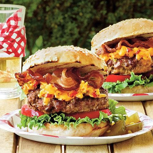 The Burger Dad Wants to Eat (Bacon AND Pimento Cheese!)