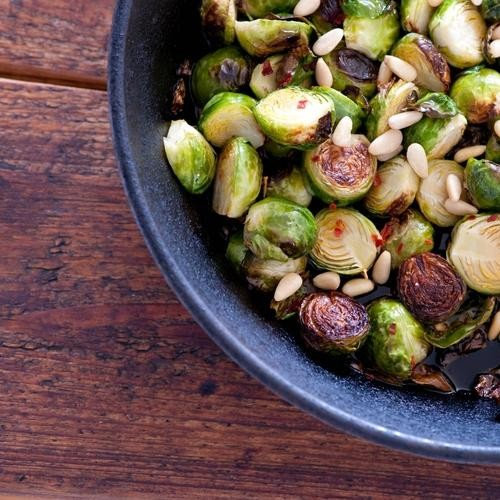 We're Seeing It Everywhere: Brussels Sprouts with Fish Sauce