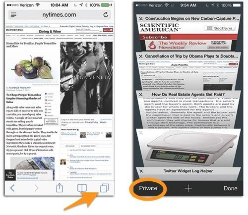 How to Browse the Web Privately on the iPhone