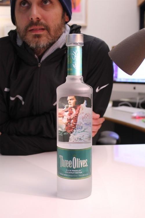 Elvis Presley Coconut Water Vodka Is...Not a Joke