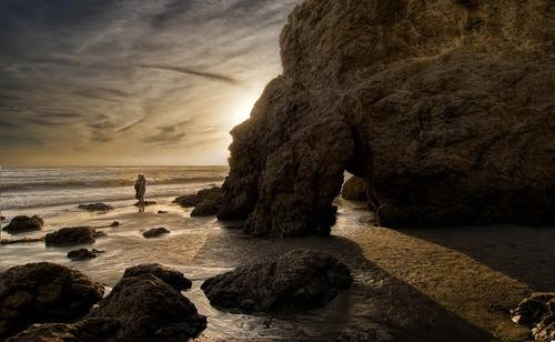 #Daydream: Sunset at El Matador State Beach in North Malibu