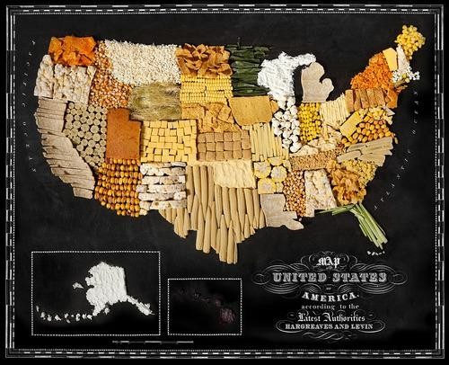 """""""Food Maps"""": Informative, Delicious, Freaking Beautiful"""