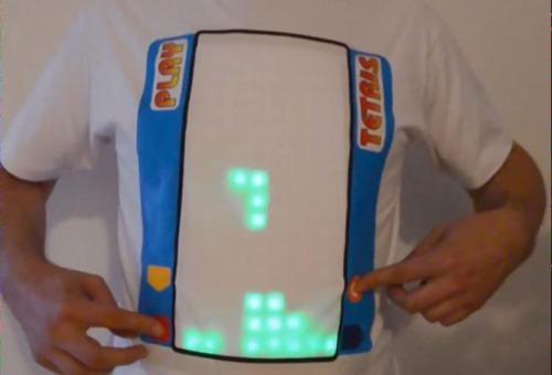 Gamer Creates a Tetris Tee That's Actually Playable