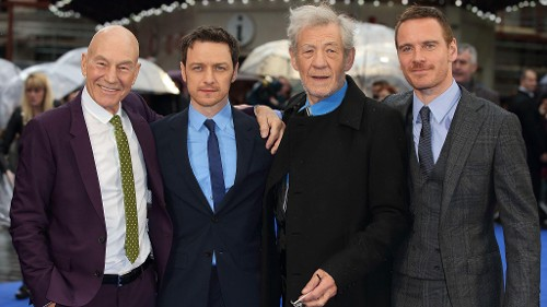 How Much Do 'X-Men' McAvoy and Fassbender Look Like a Young Stewart and McKellen?