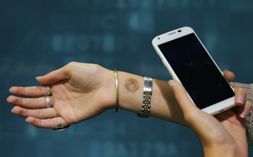 You Can Now Unlock Your Smartphone with a 'Tattoo'