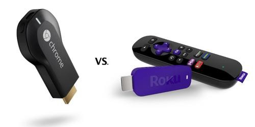 Chromecast vs. Roku: Who Wins This Streaming Media Stick Fight?
