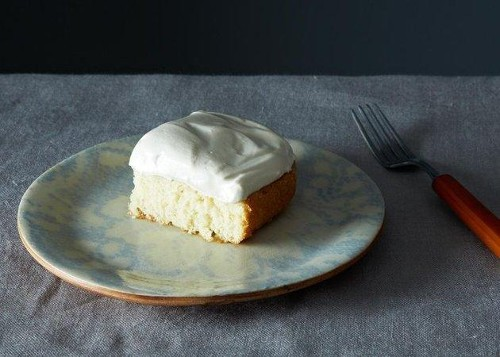 White Cake with Marshmallow-y Frosting, You Say?