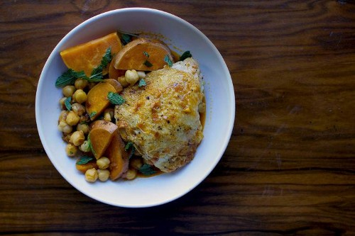 $20, 20-Minute Meal: Braised Chicken Thighs with Tomato and Honey