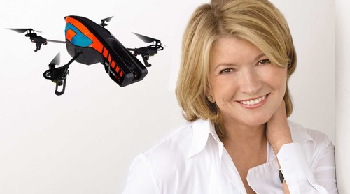Martha Stewart Owns a Drone
