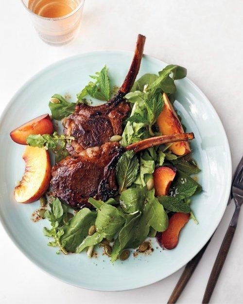 Lamb Chop Salad for the Win