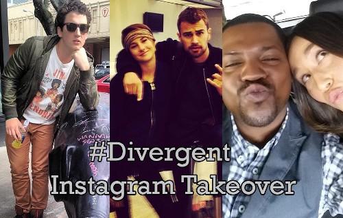 'Divergent' Cast's Instagram Takeover