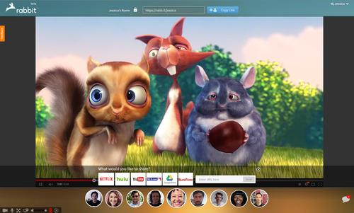 Rabbit Lets You Watch Netflix and YouTube with Friends Around the World