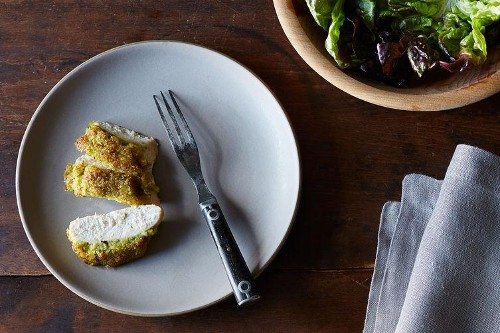 Pesto Chicken and a Dead Sexy Dessert in One Hour