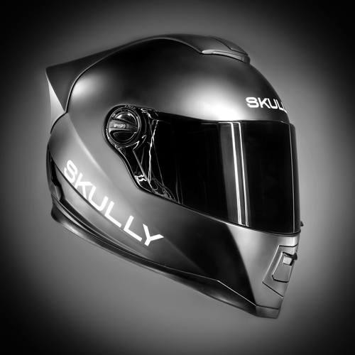 The Skully AR-1 Is a Motorcycle Helmet with a Rear Camera and Bluetooth Hookup